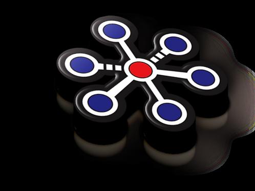 Coordination Badge Pin - Metallic Soft Enamel
