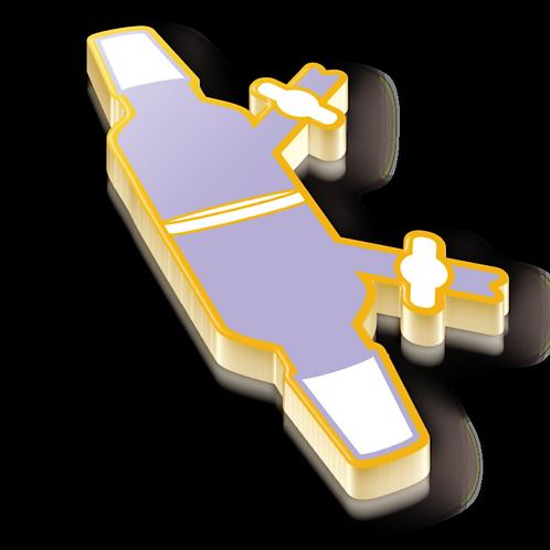 Schlenk Filter Badge Pin - Metallic Hard Enamel