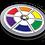 Thumbnail: Spectrochemical Badge Pin - Metallic Soft Enamel