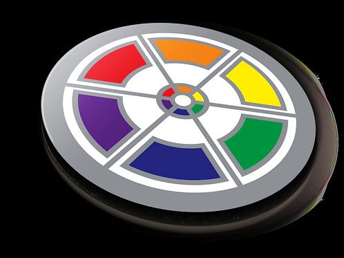 Spectrochemical Badge Pin - Metallic Soft Enamel