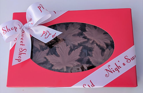 Chocolate Maple Leaves