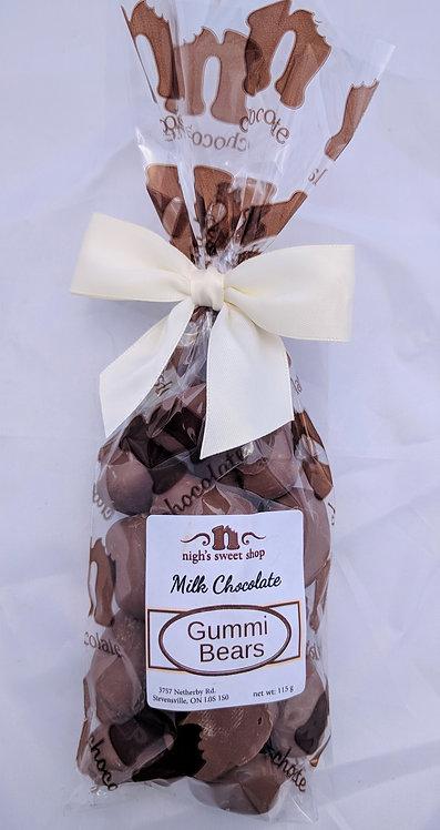 Gummi Bears, milk chocolate