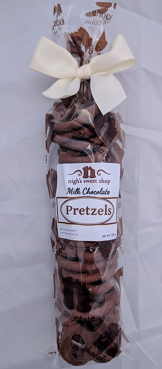Pretzels, chocolate covered