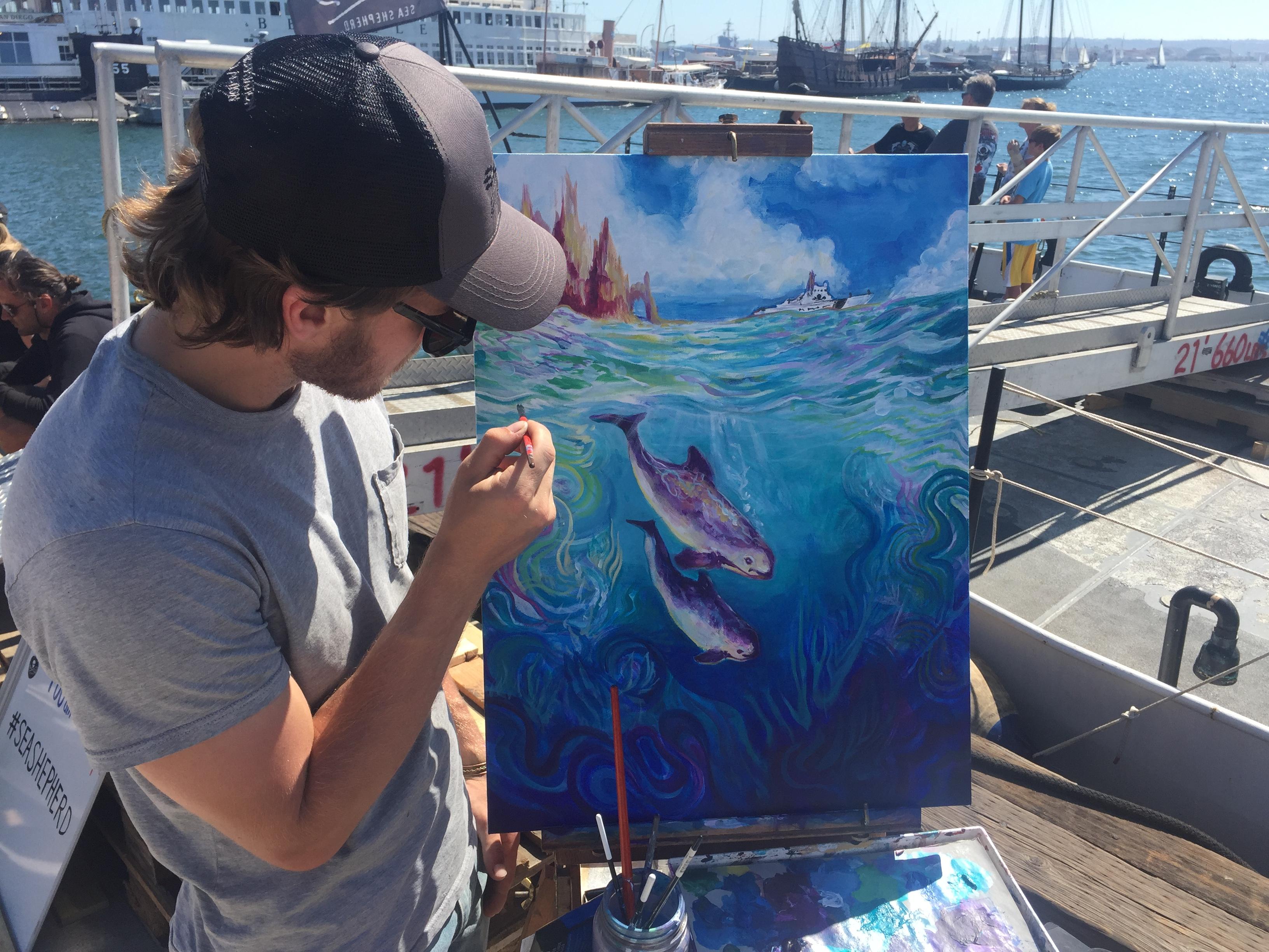 Collab for Sea Shepherd