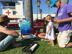Live painting collab for Sea Shepherd