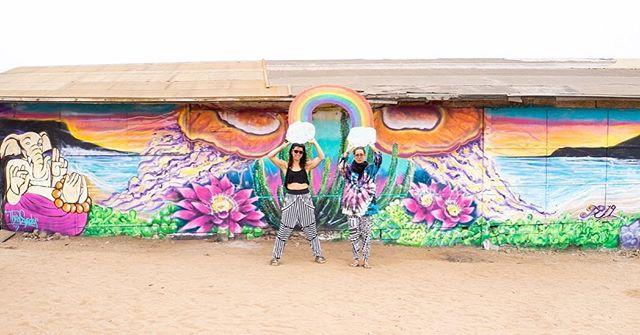Mural collab at Genius Loci 2019