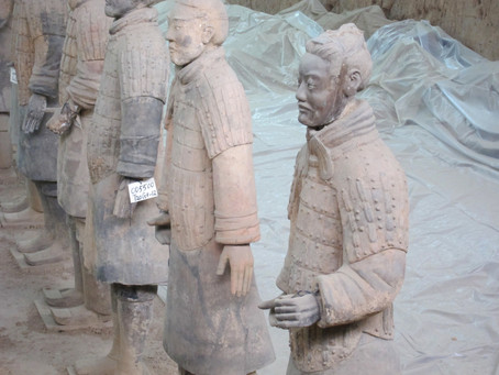 The Terracotta Army of Xi'an, China