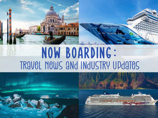 European Countries are Opening and Cruise Lines Announce New Alaska Trips!