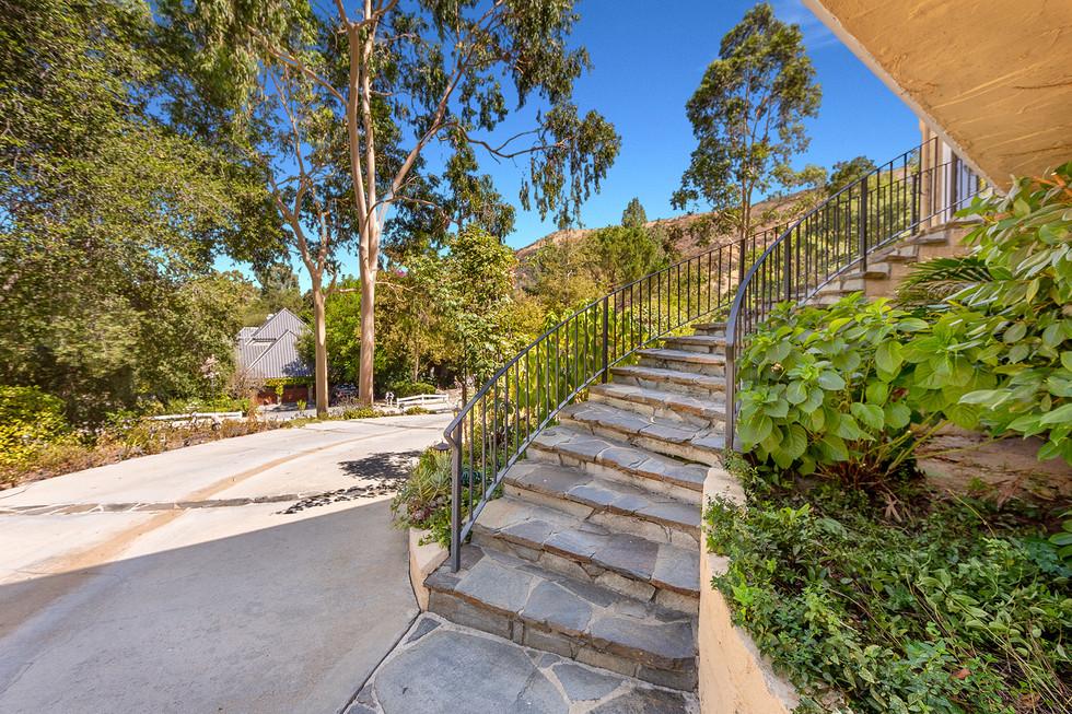 Winding Stairs to Front Door