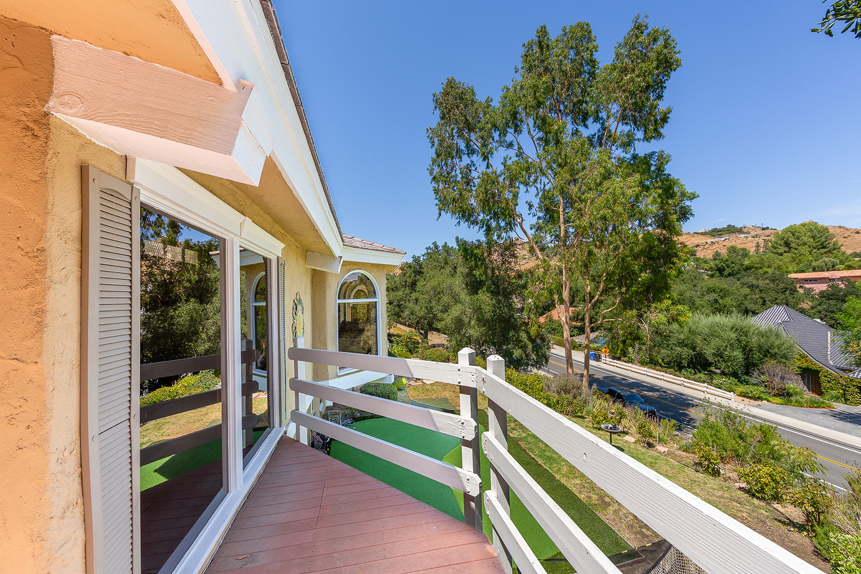 Front View off of Livingroom Deck