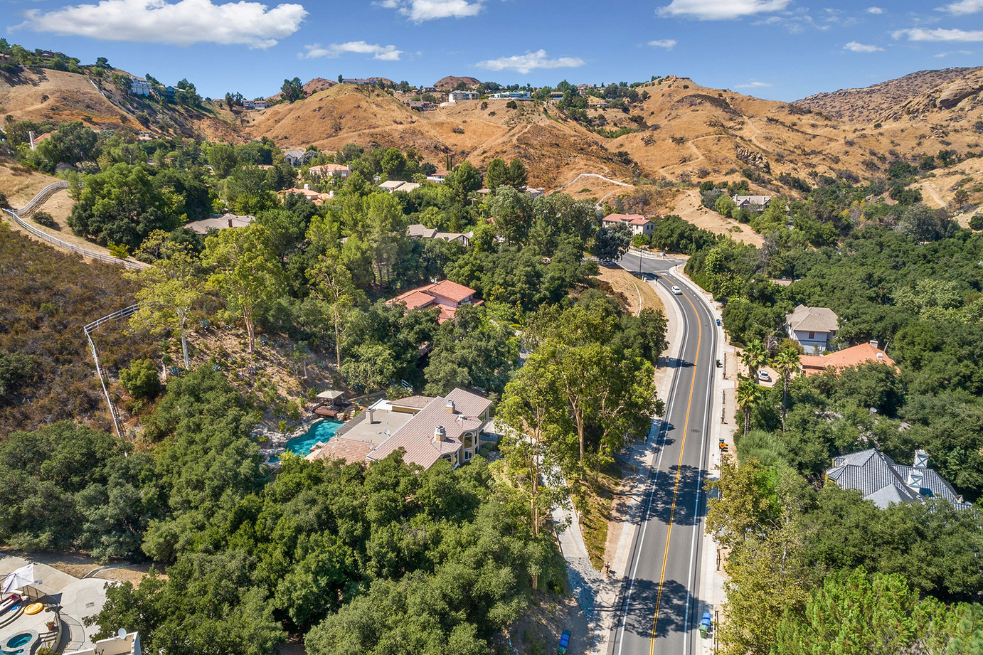 Views of Bell Canyon
