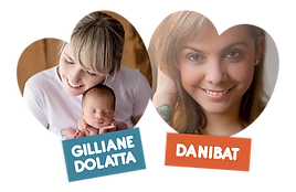 Gilliane Dolatta e Danibat palestrantes