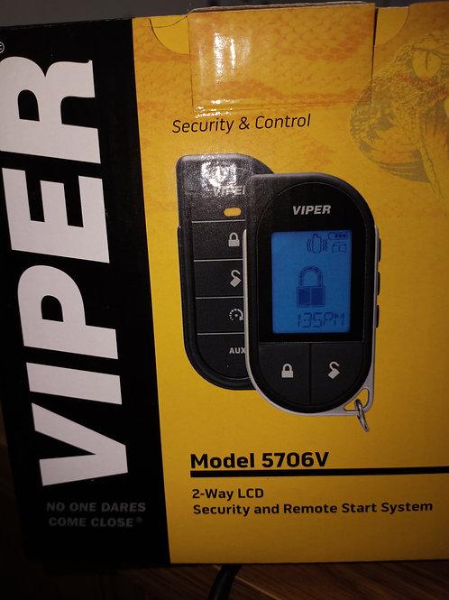 5706V Viper. Remote start security system