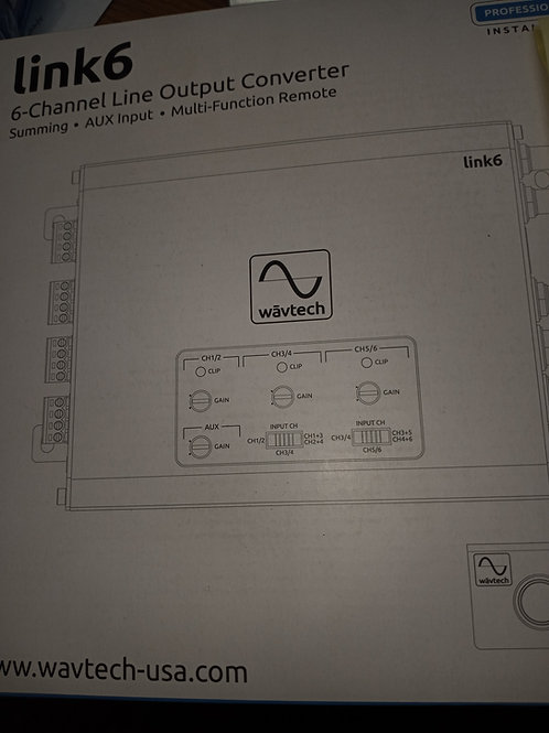 LINK 6 line output converter