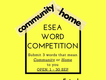 East and Southeast Asian (ESEA) Word Competition!