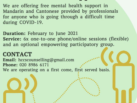Mental Health support service