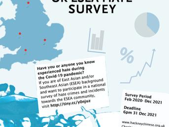HCCS launches UK ESEA Hate Survey