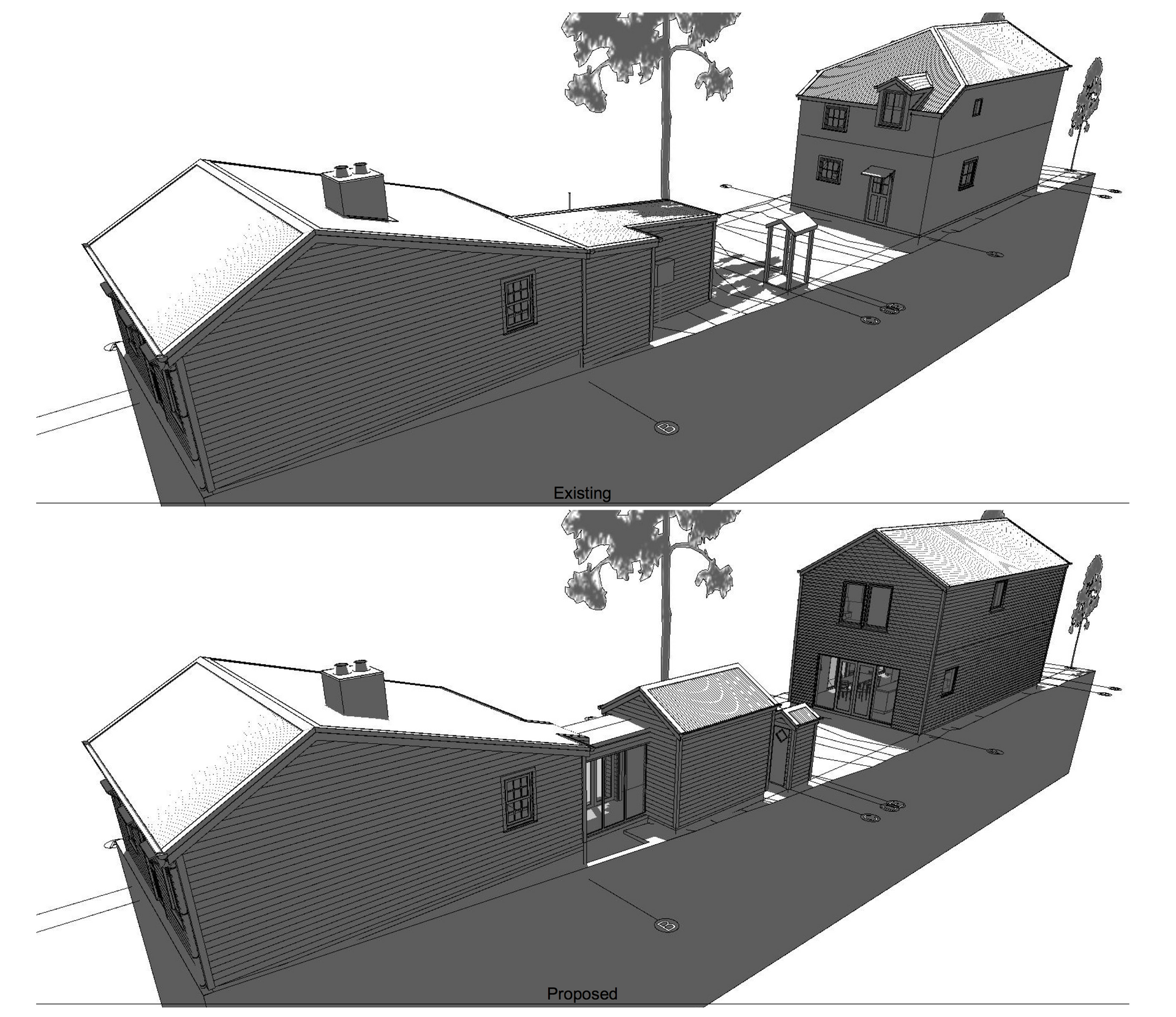 Arrowtown Cottage Existing/Proposed