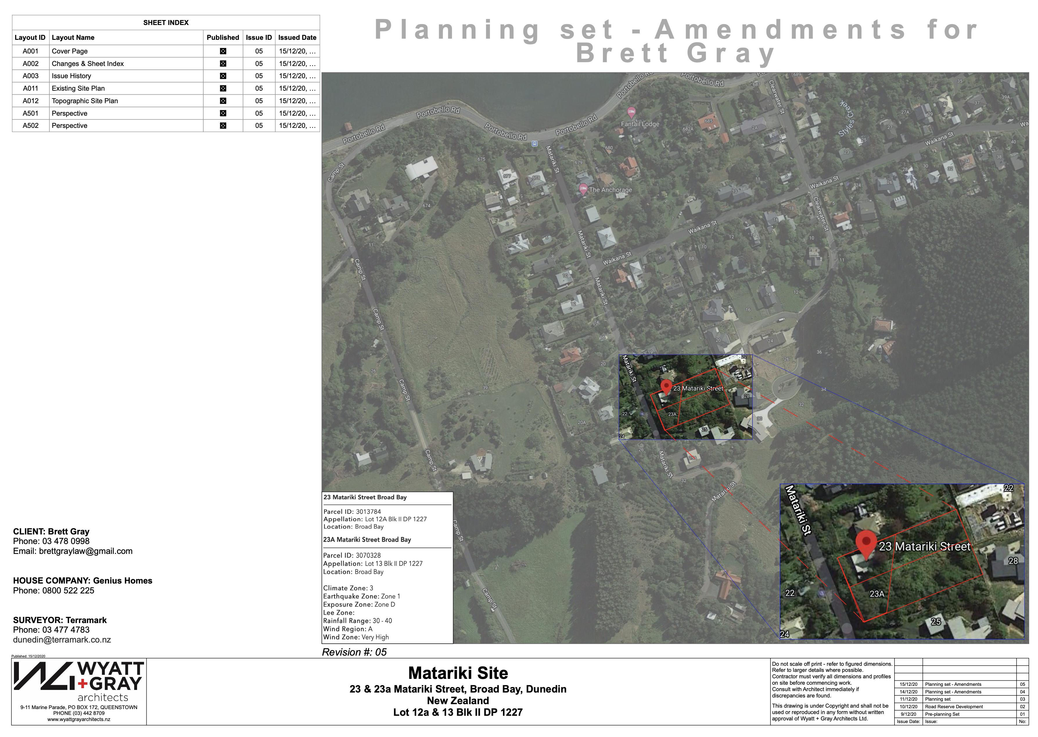 Matariki - RC Planning Set