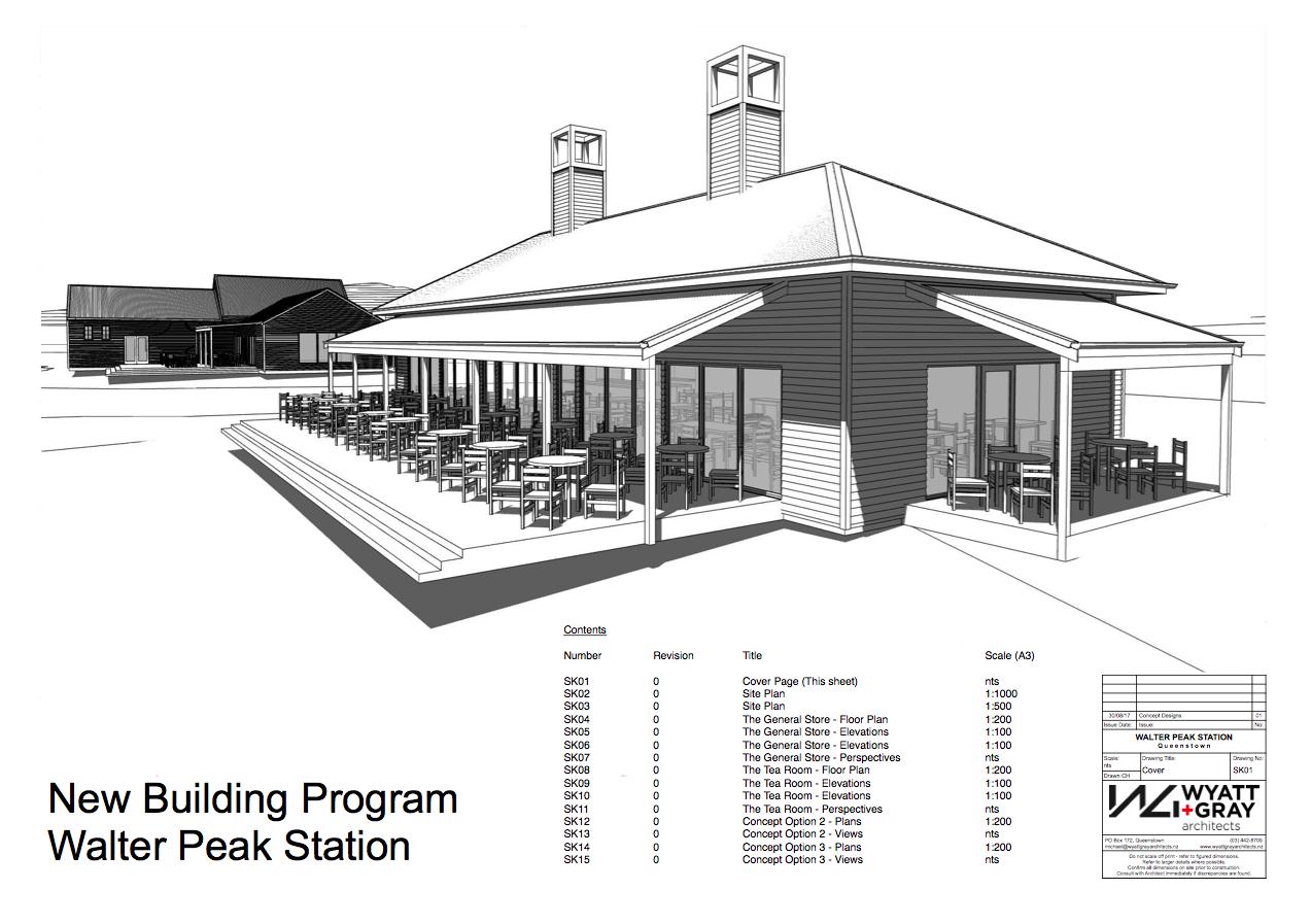 Walter Peak Station Tea Room Proposal