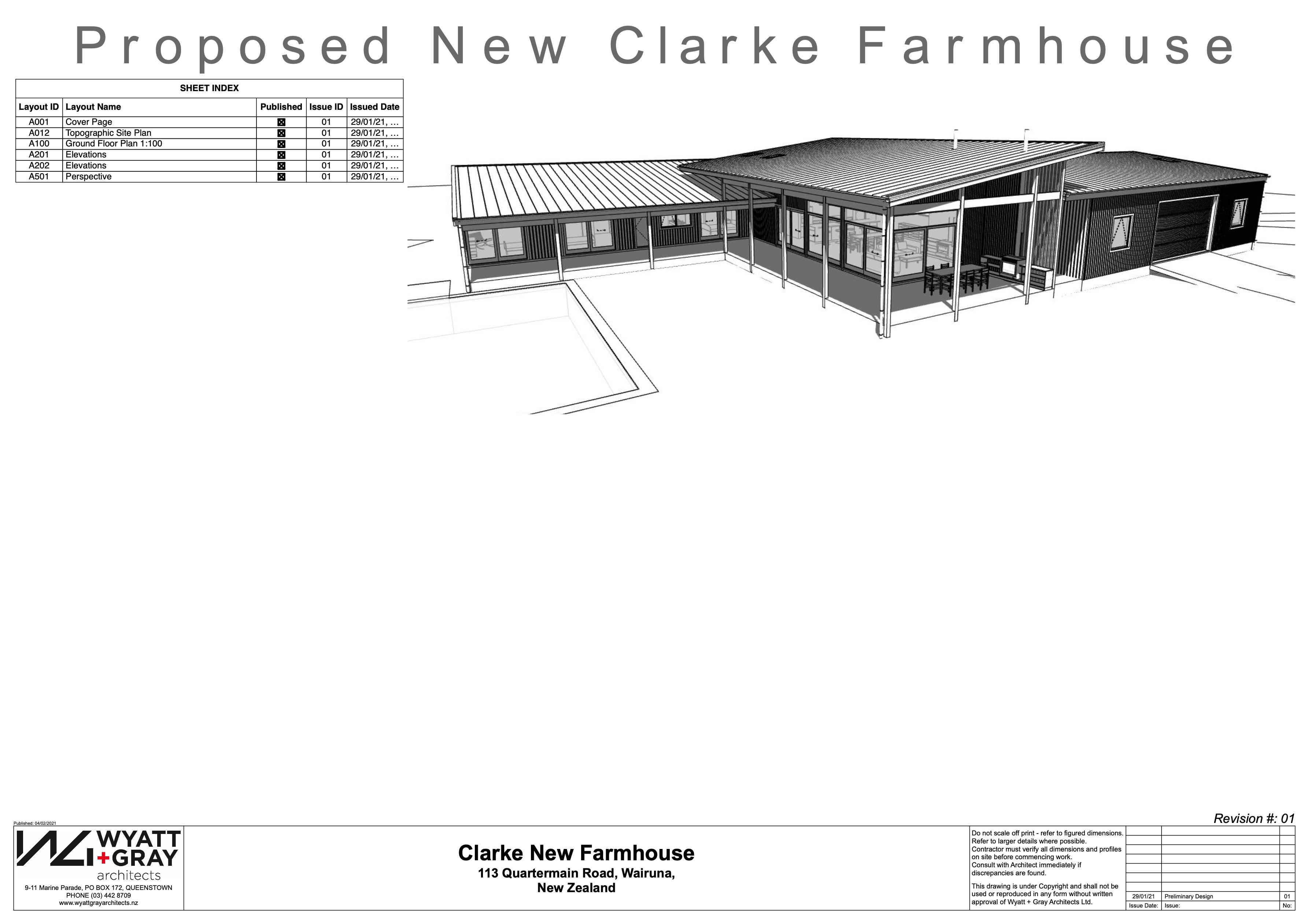 Clarke New Farmhouse