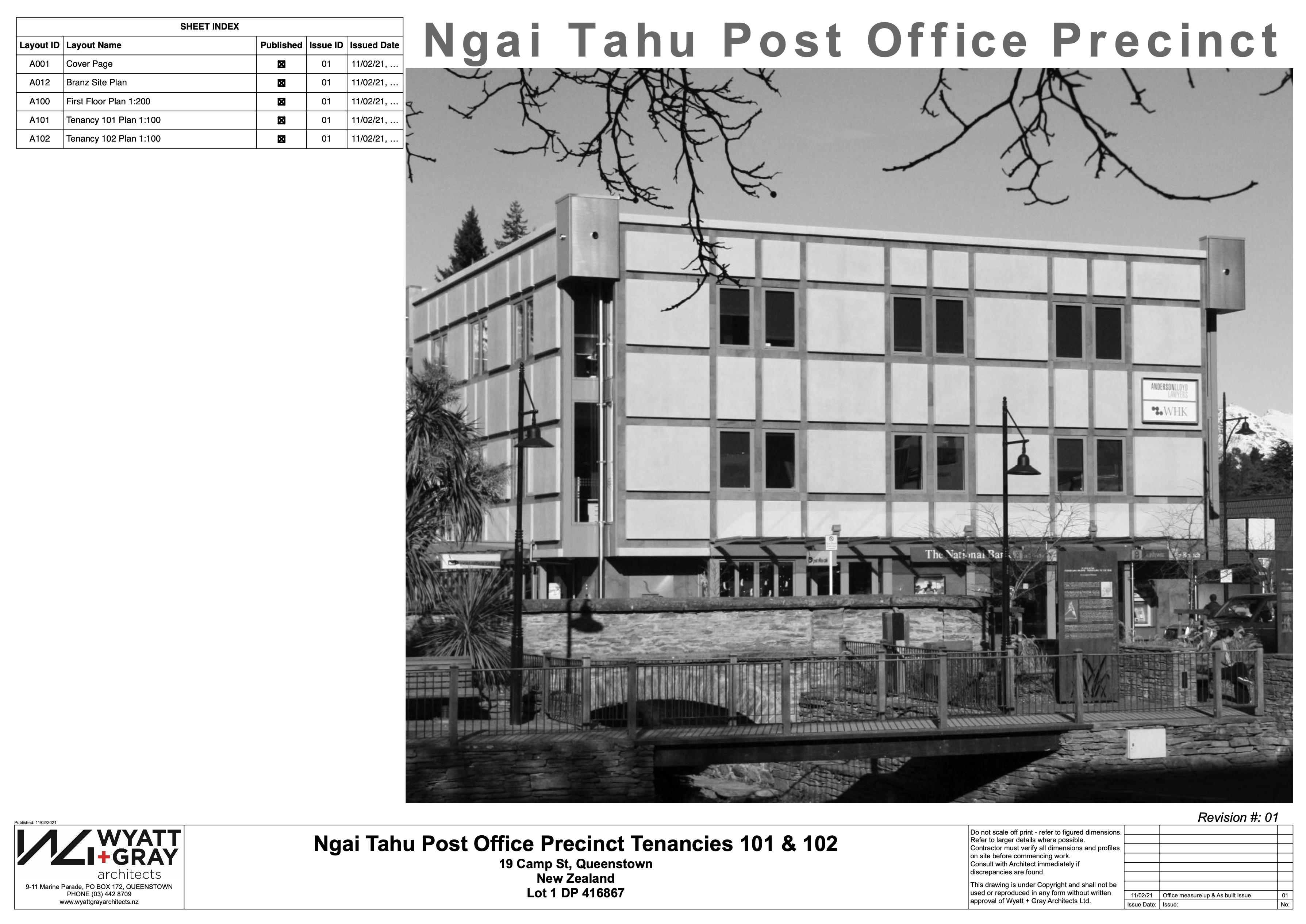 Ngai Tahu Post Office Precinct