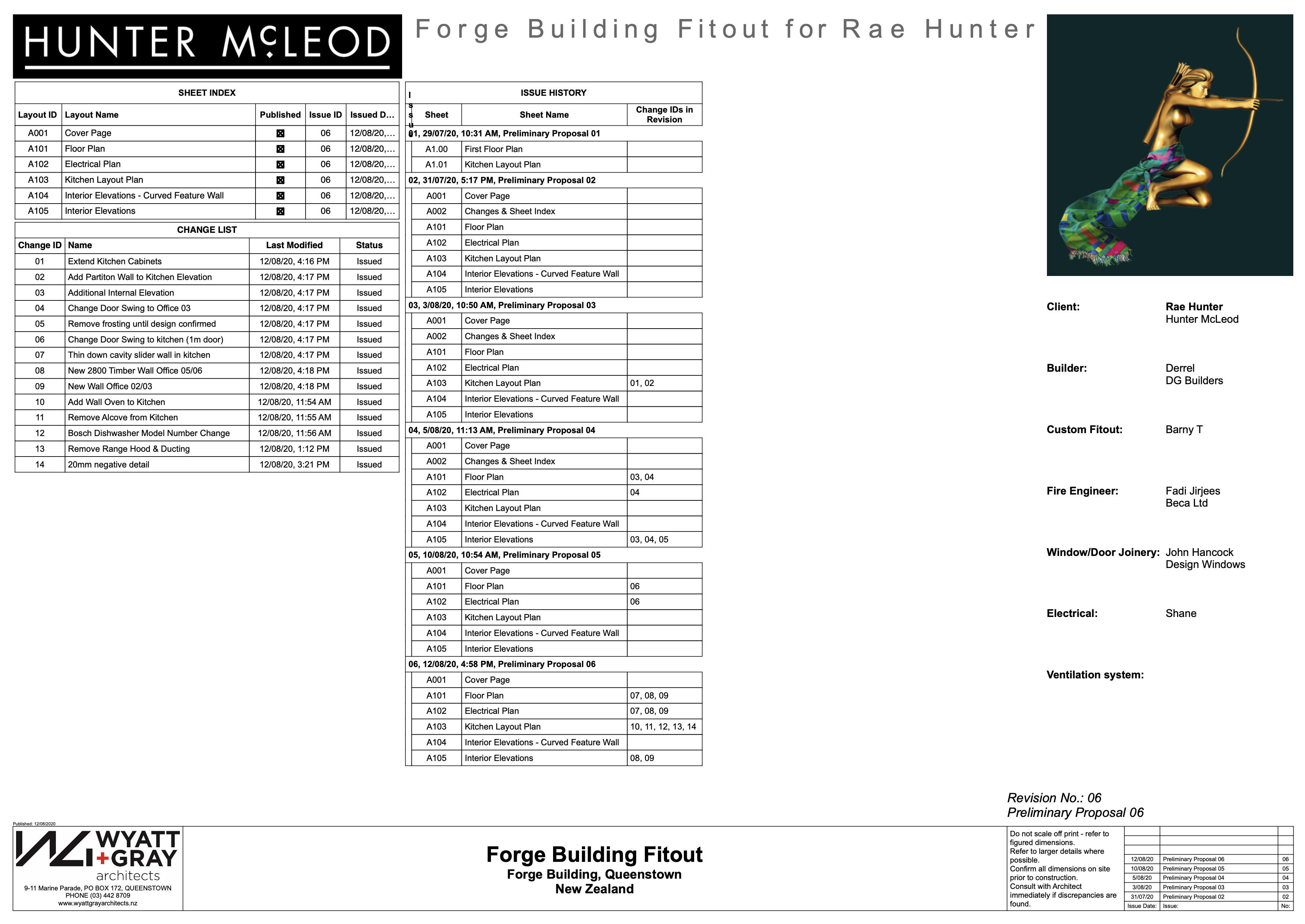 Hunter Forge Building Fitout