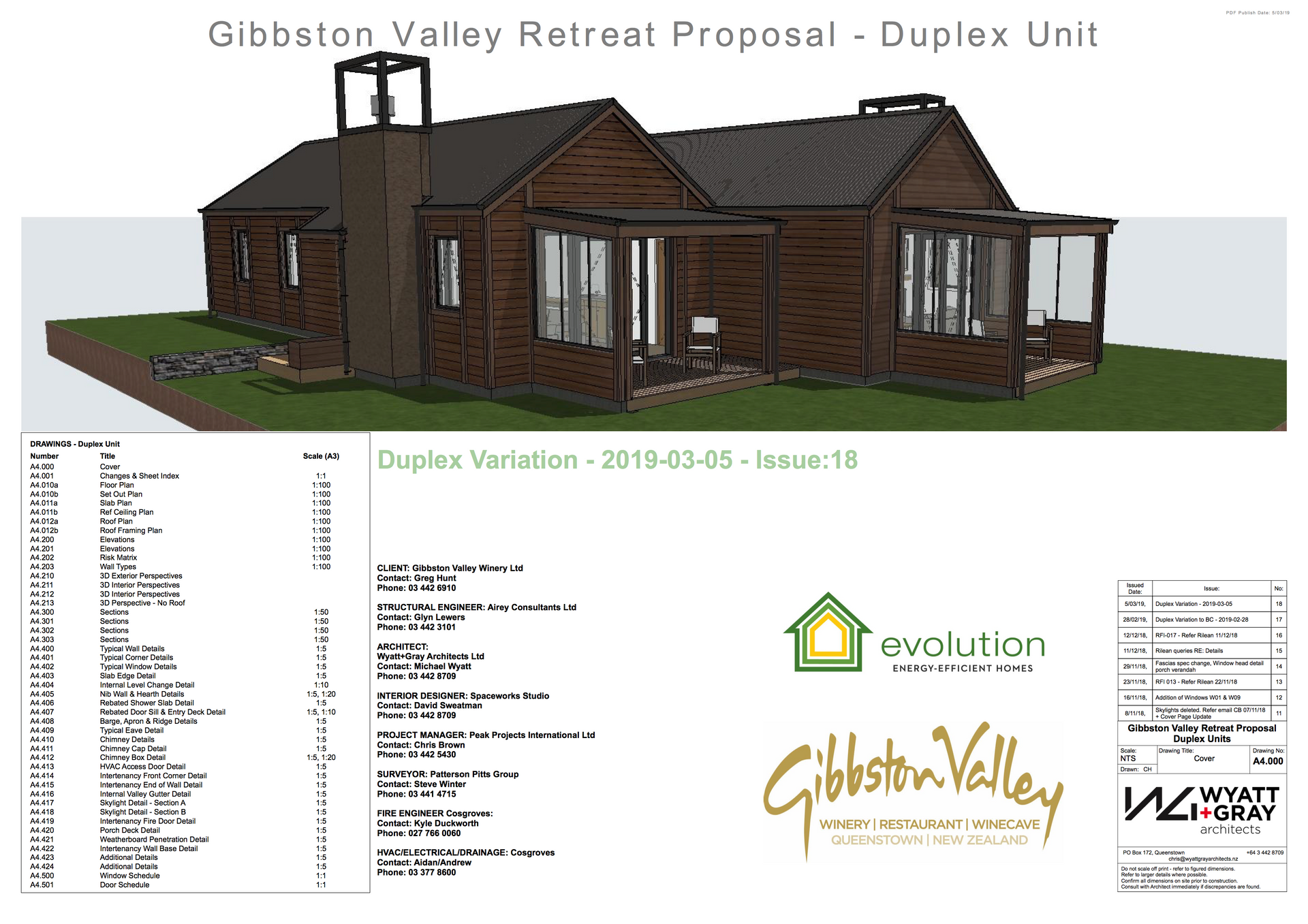 Gibbston Valley Winery - Duplex Cover