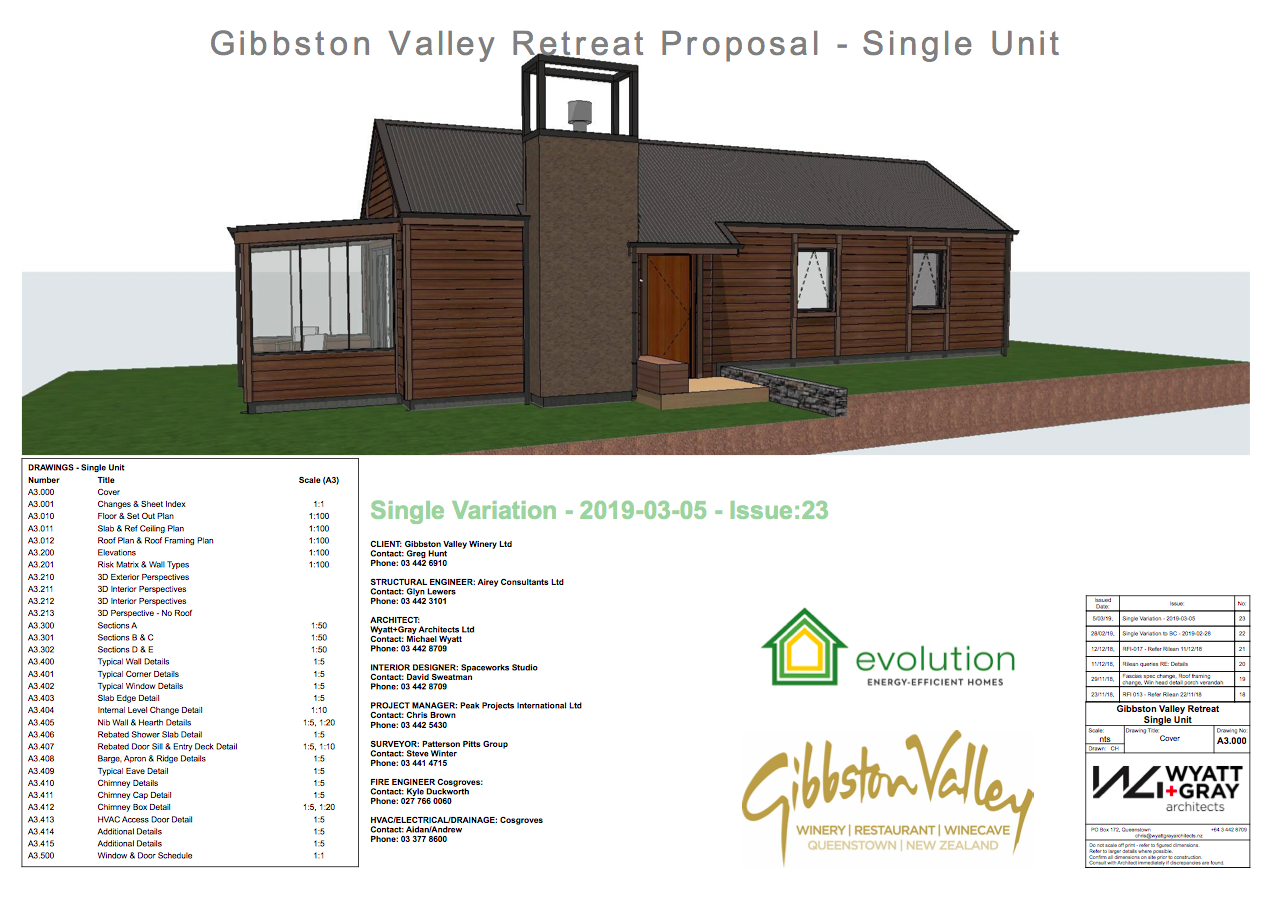 Gibbston Valley Winery Single Cottages
