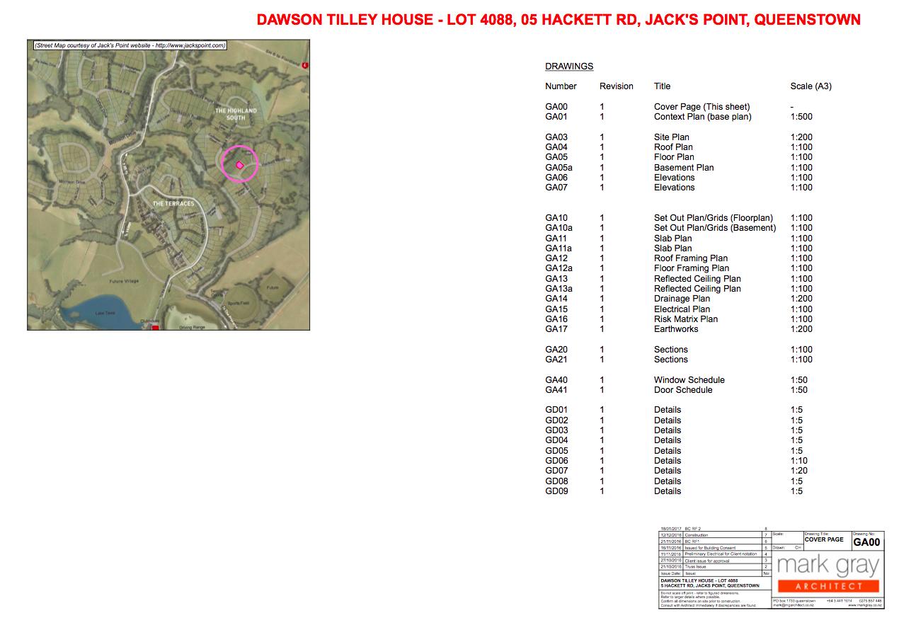 Dawson & Tilley - Jacks Point
