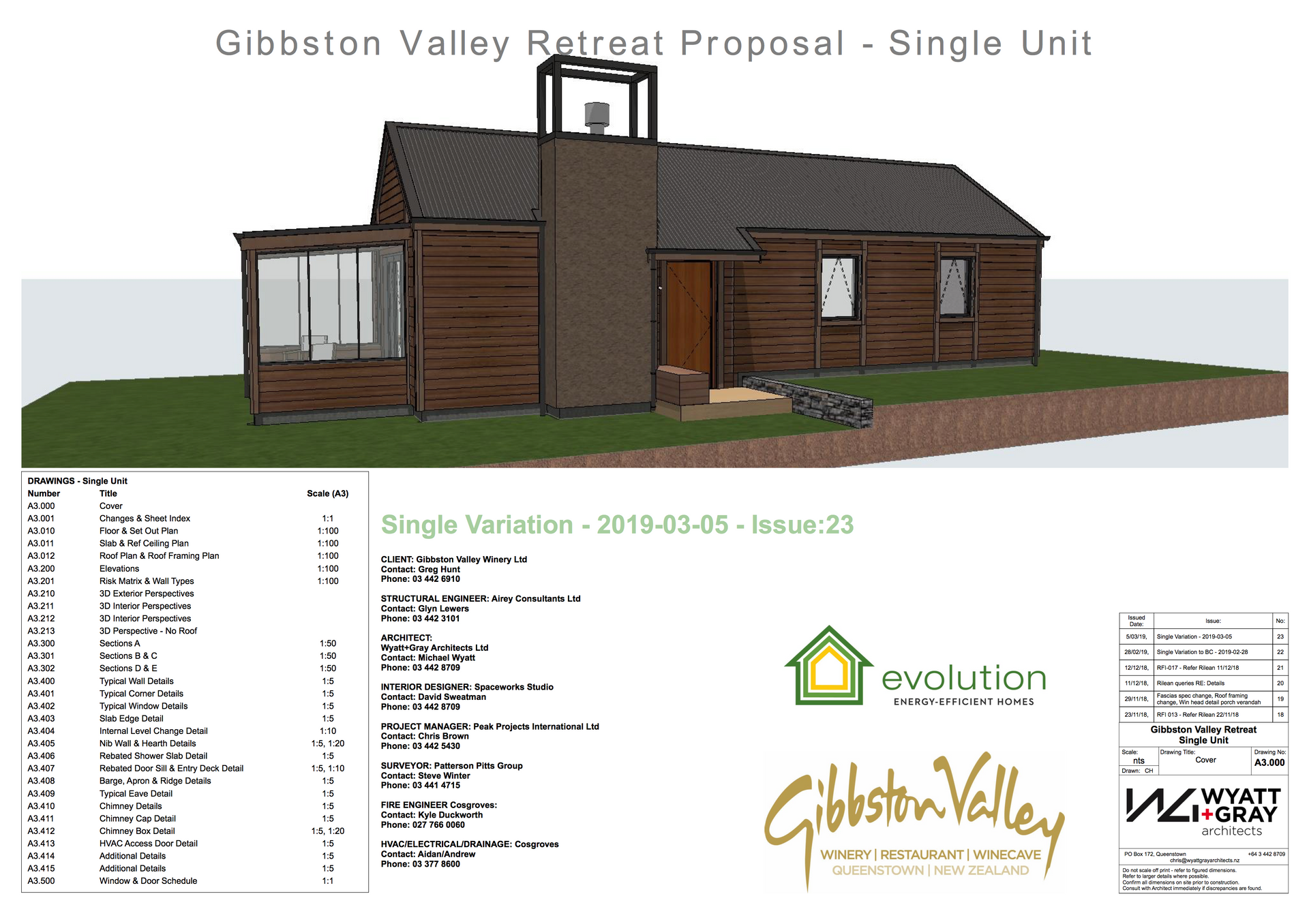 Gibbston Valley Winery - Single Cover