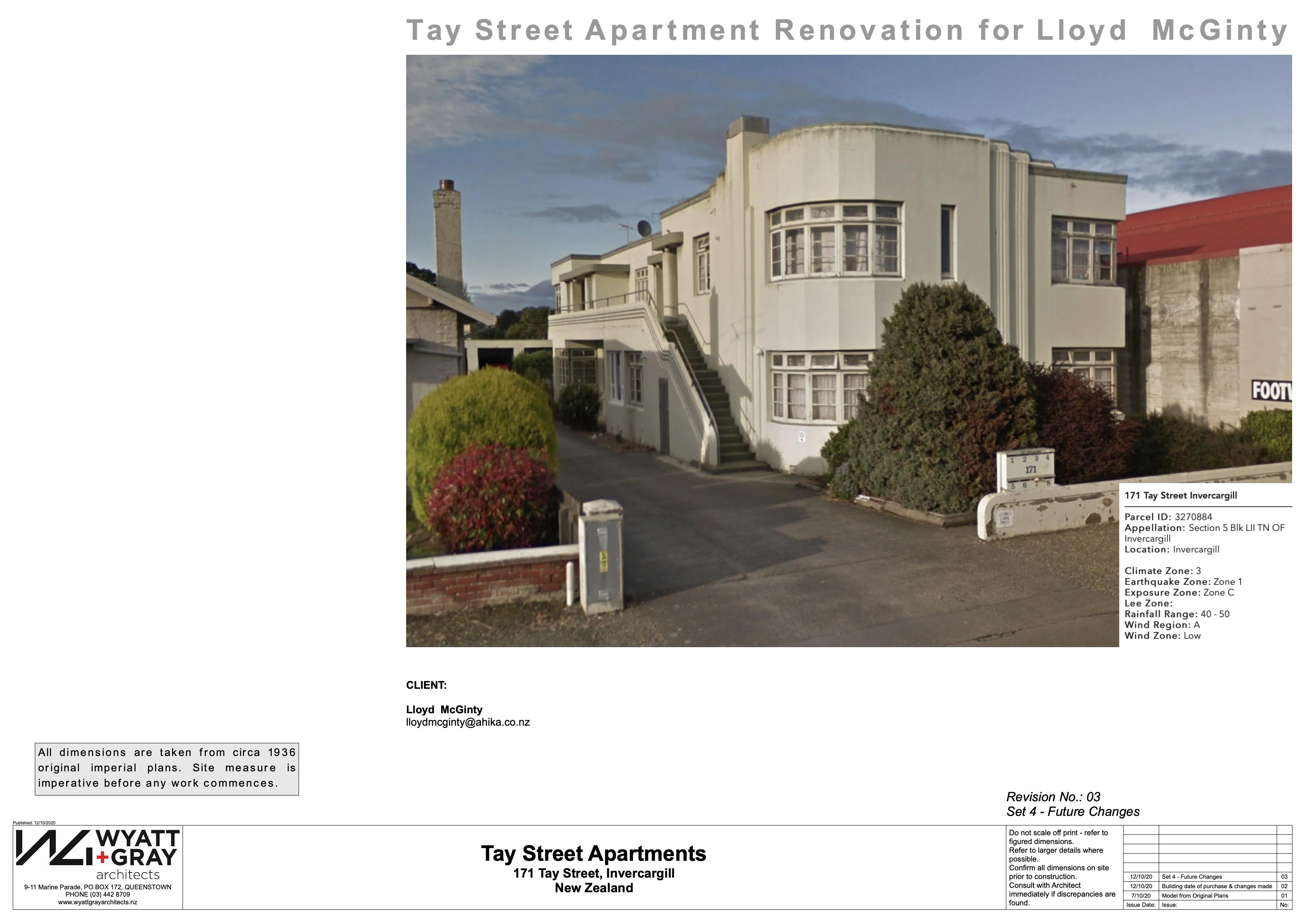 Tay St Apartment - Renovations