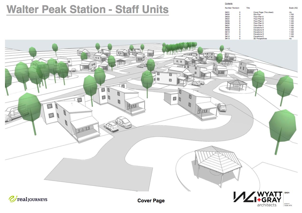Walter Peak Station Staff Units