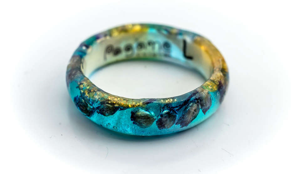 Rings Resin by PAGANE uniques Design (12