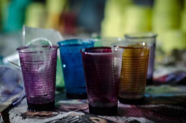 Resin colors PAGANE uniques Studio