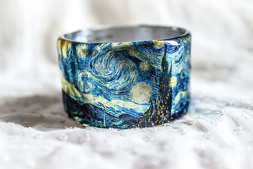 Starry Night Van Gogh ResinBangle