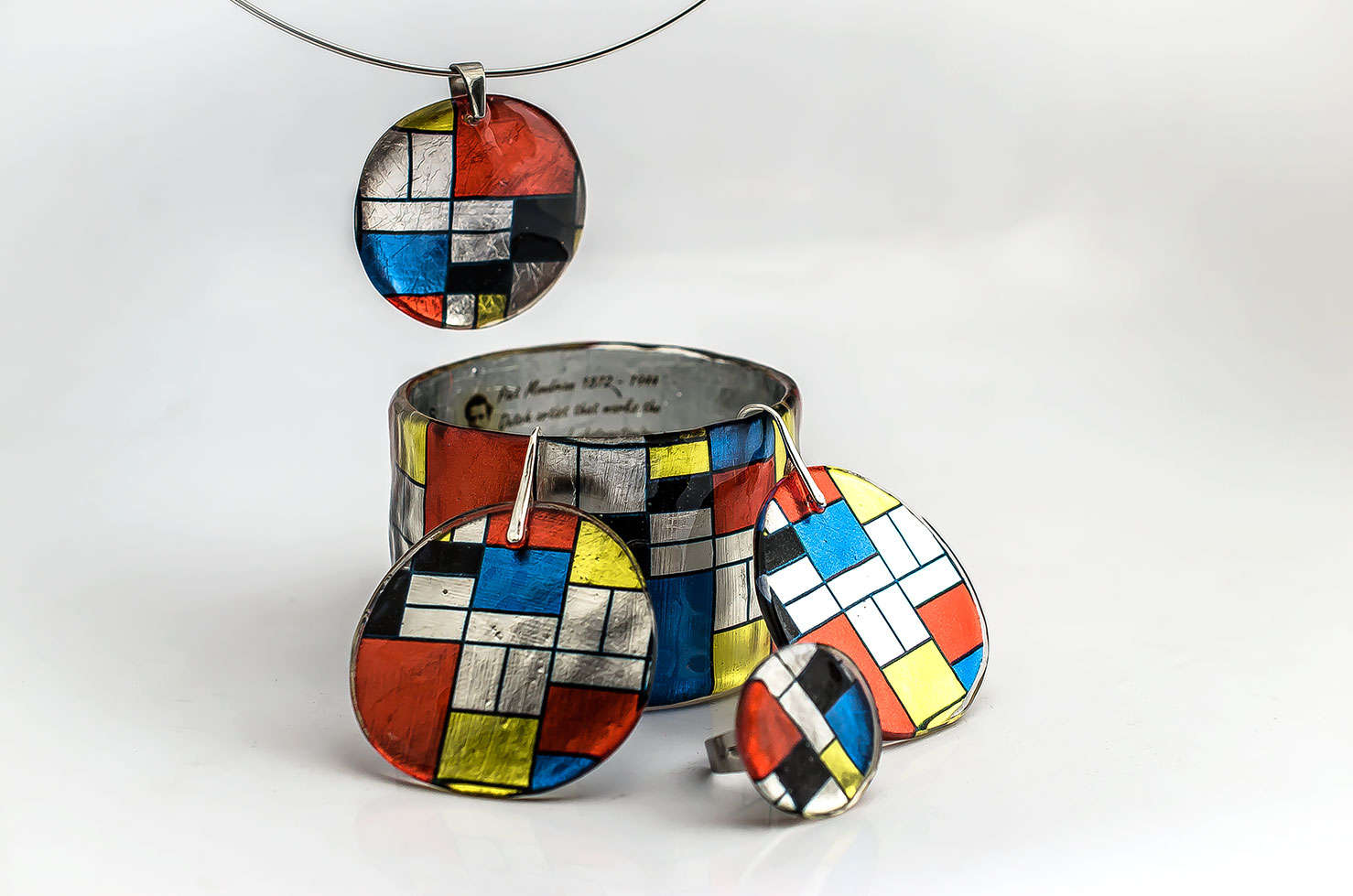 Mondrian Resin Set by PAGANE uniques