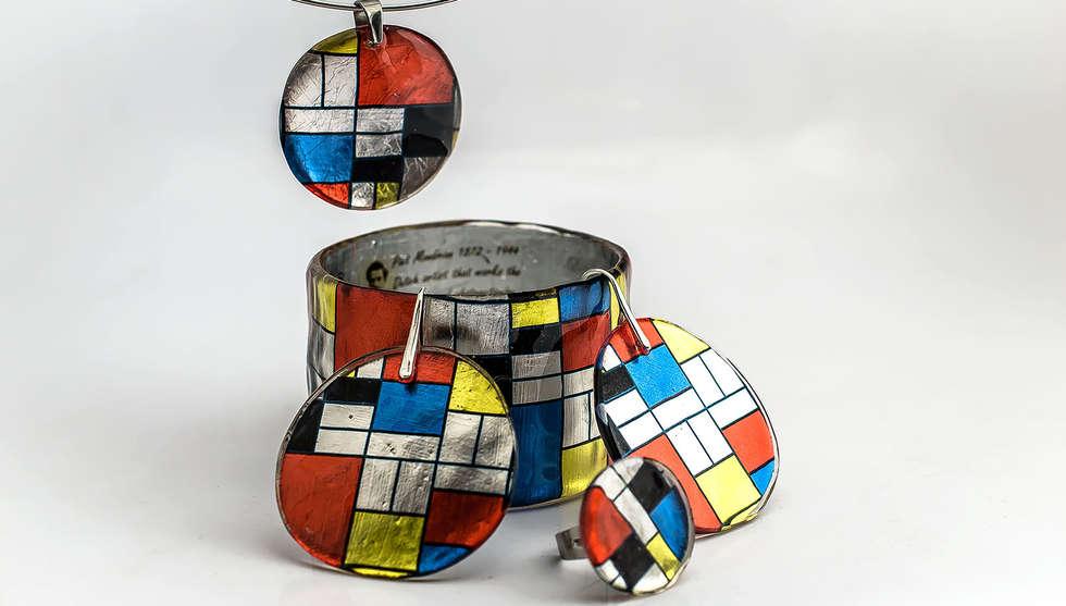 Mondrian Resin Set by PAGANE uniques