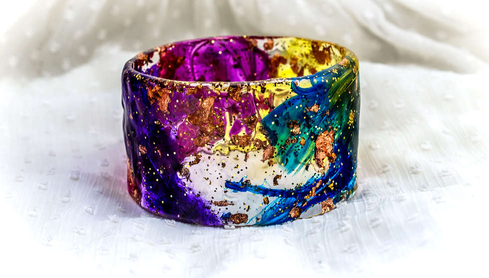High Resin Bangle By PAGANE uniques (4).