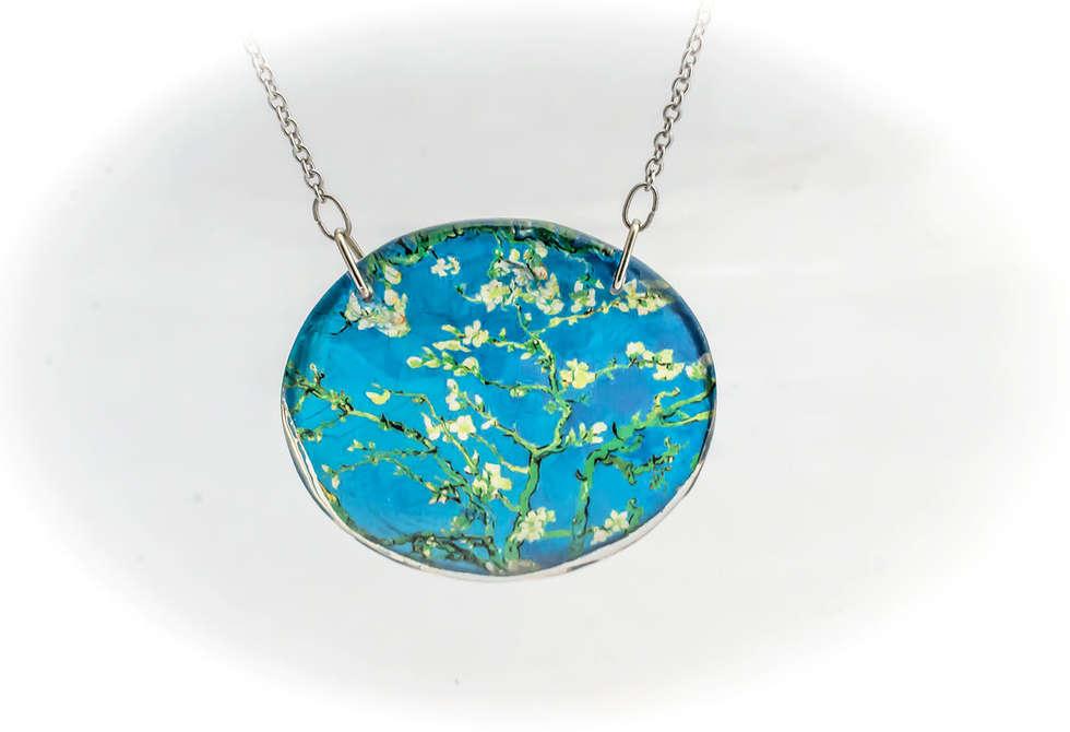 Necklace Pendants Resin by PAGANE unique