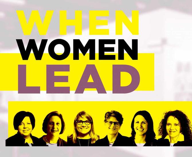 Women of FXFOWLE Presents: When Women Lead