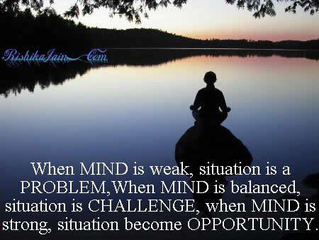 Be Mindful of Opportunities