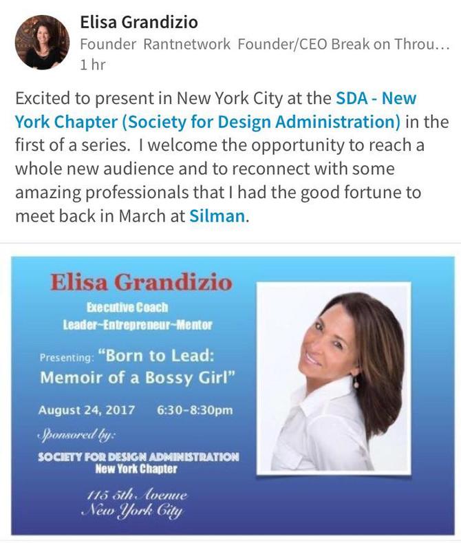 SDA- NEW YORK CITY EVENT