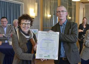 Renkum door NCK gecertificeerd als eerste gemeente met certificaat CO2-Prestatieladder