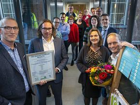Barneveld is door NCK als tweede gemeente in Nederland gecertificeerd op de CO2-Prestatieladder