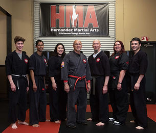Hernandez Martial Arts Teen and Adult Program