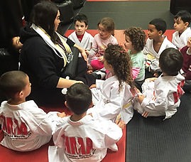 Hernandez Martial Arts Pre-School Class