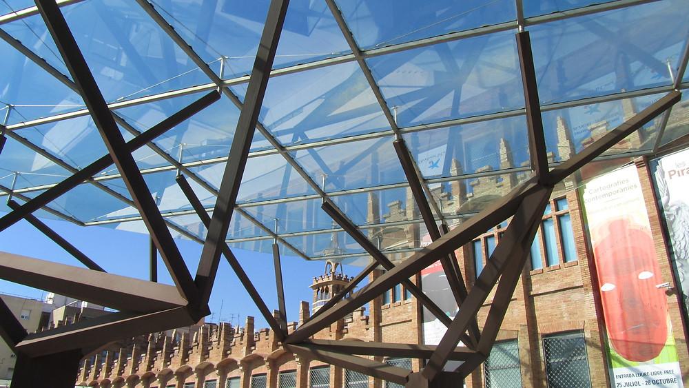 Glass vs. Brick. Modern vs. Old. Barcelona