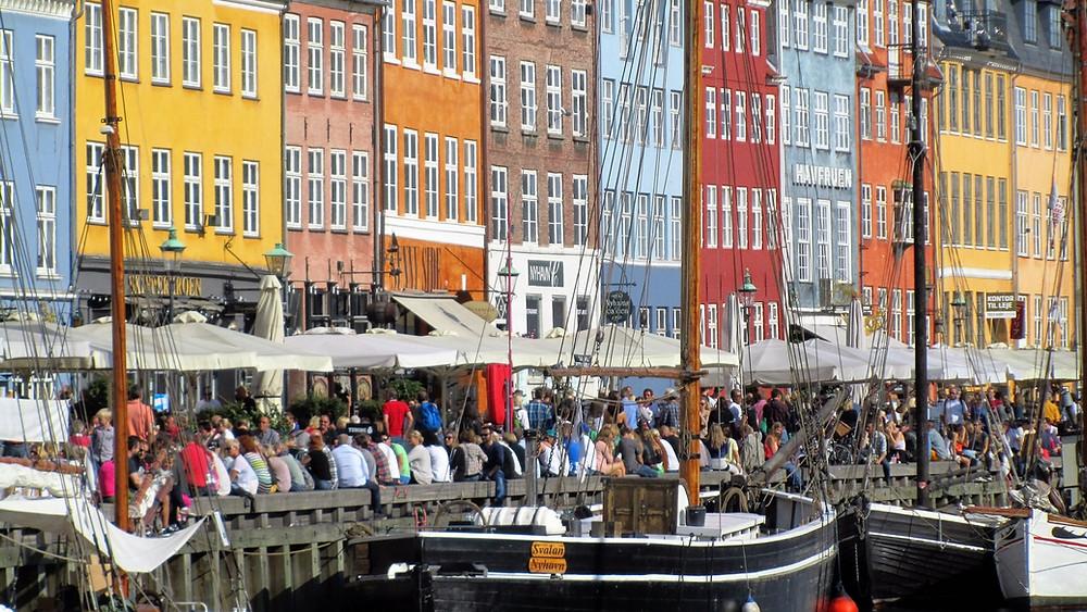 Nyhavn - in Copenhagen.