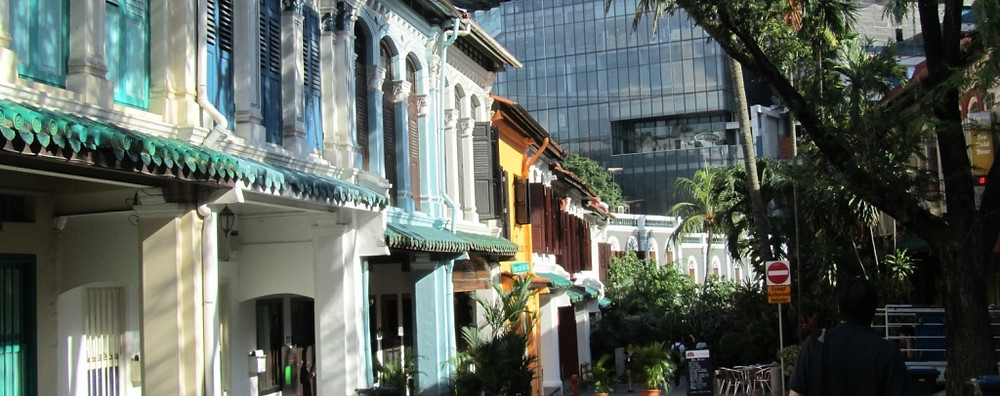 "Emerald Hill in Singapore where ""Chinese Baroque"" of the early 1900's meets glass and steel on Orchard Road. Photo credit: Frederick Rickmann"